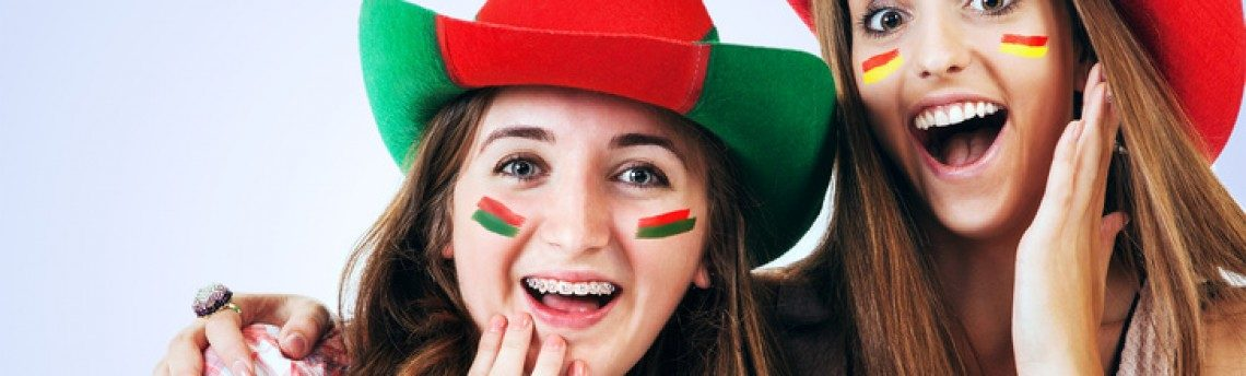 Pendientes y Pins para animar el mundial de fútbol 2014