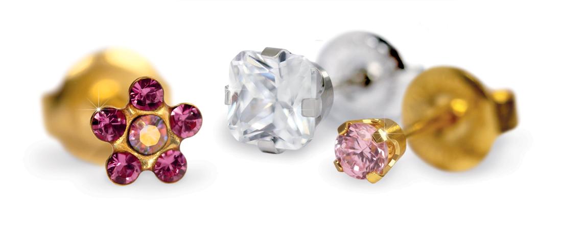 Ideas para regalar: pendientes de perforación de oro